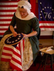 want to have tea with betsy ross? better hurry!